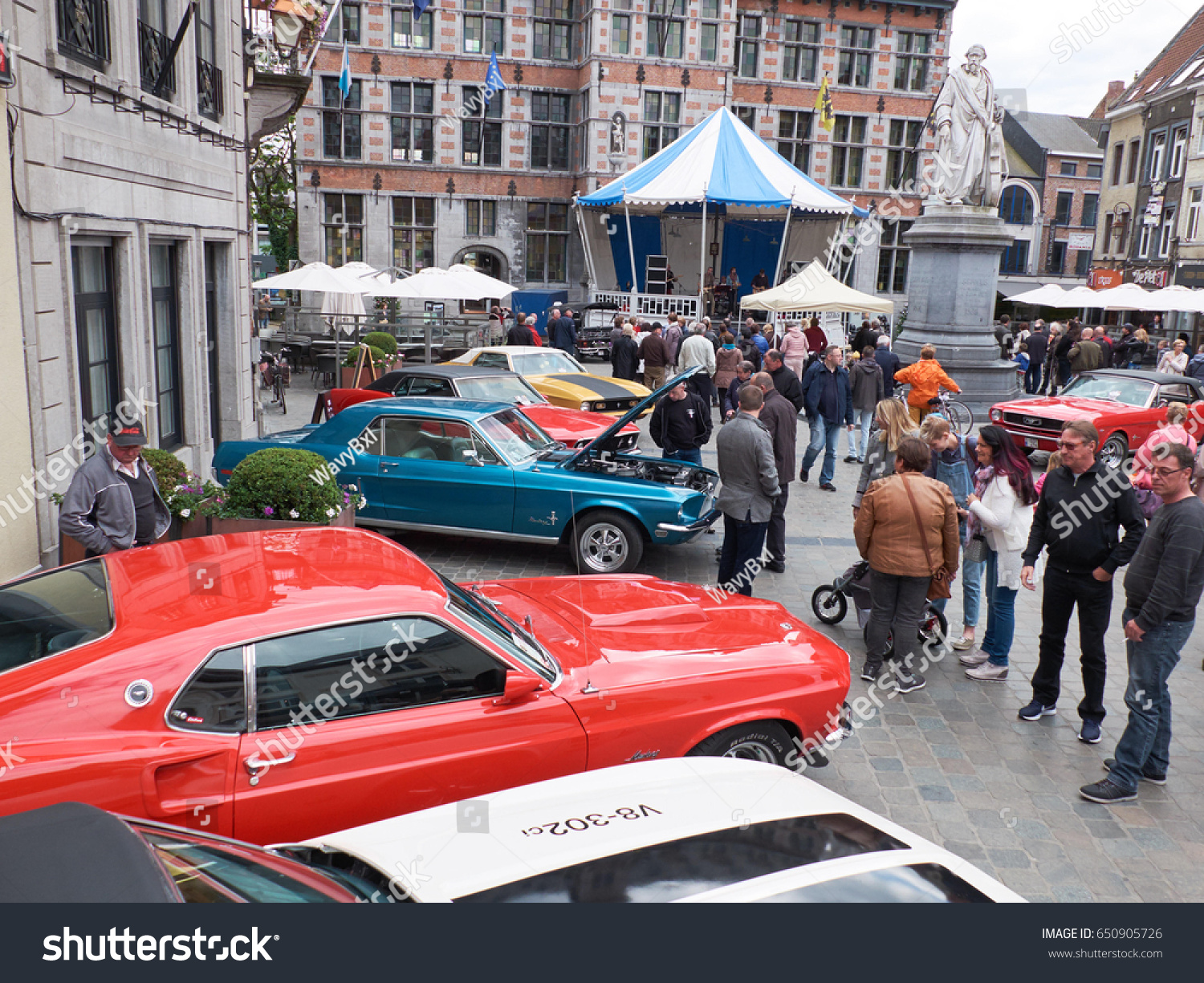 Halle Belgium May 20 Collectors Meeting Stock Photo 650905726 ...