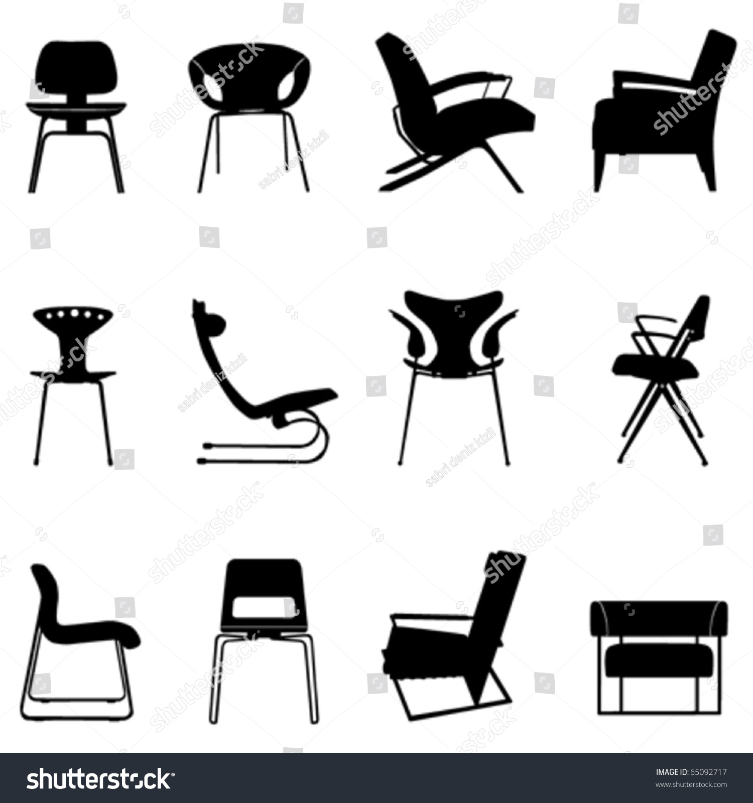 Adirondack chairs clipartsilhouette free images at clkercom - Source Image Shutterstock Com