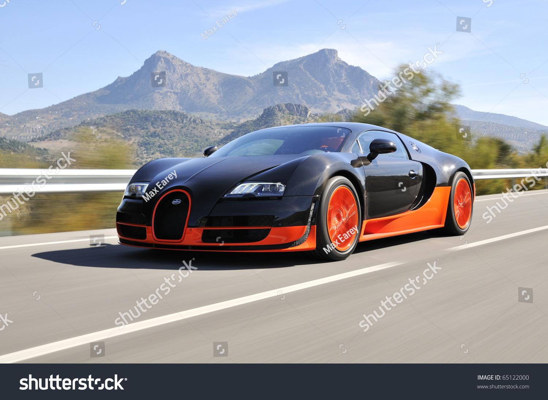 jerez spain september 19 the bugatti veyron super. Black Bedroom Furniture Sets. Home Design Ideas