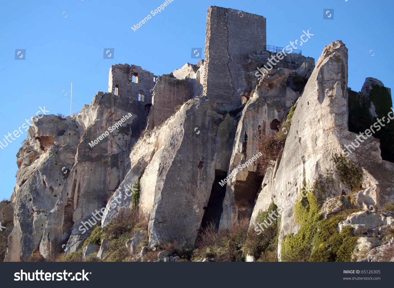 Chateau des baux france les baux de provence is a - Office du tourisme des baux de provence ...