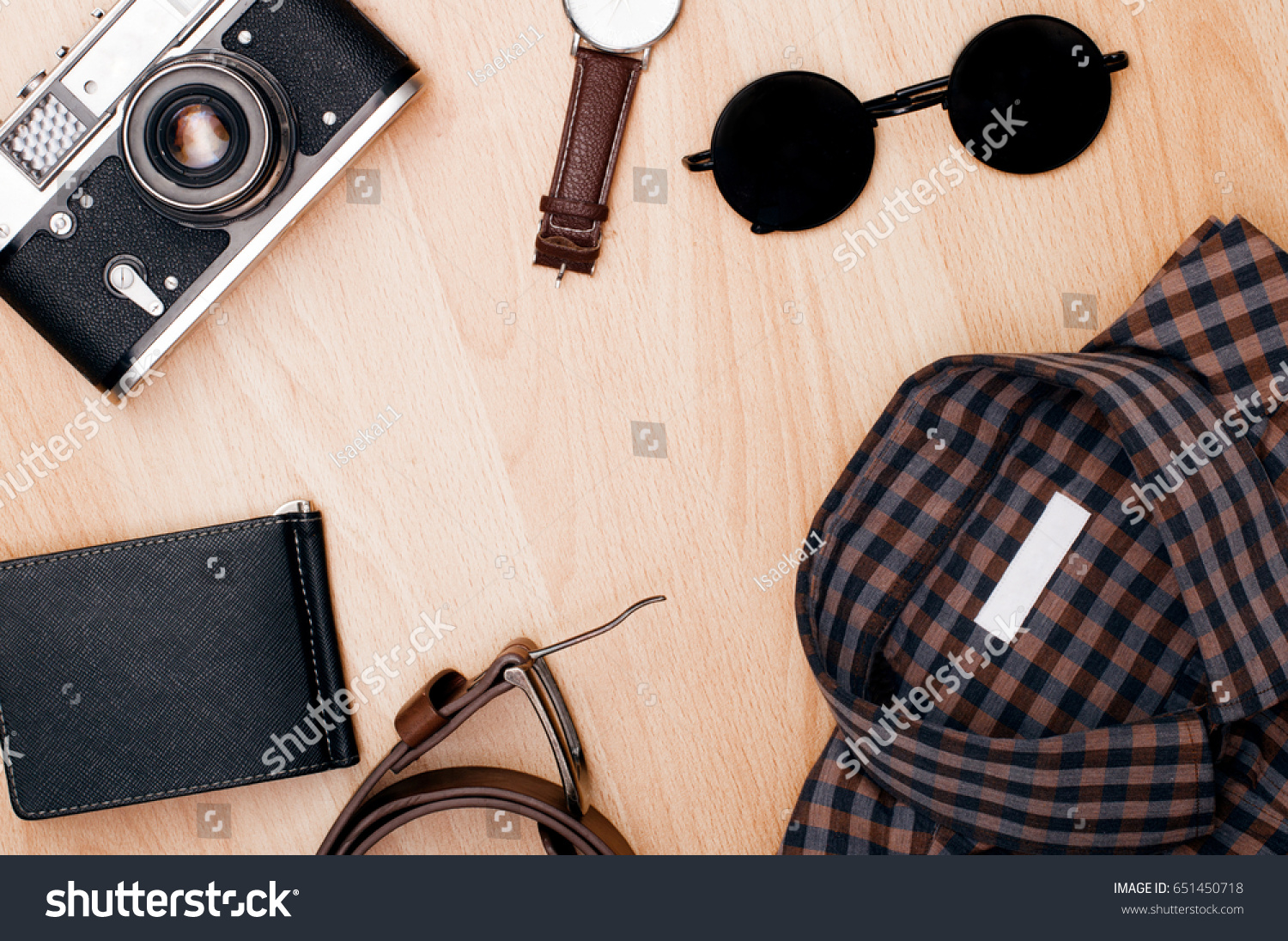 Travel Planning Set Travel Accessories On Stock Photo Edit Now 651450718