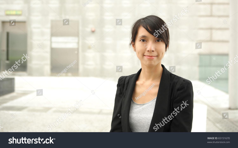 Asian Business Woman Stock Photo 65151670 - Shutterstock-5692