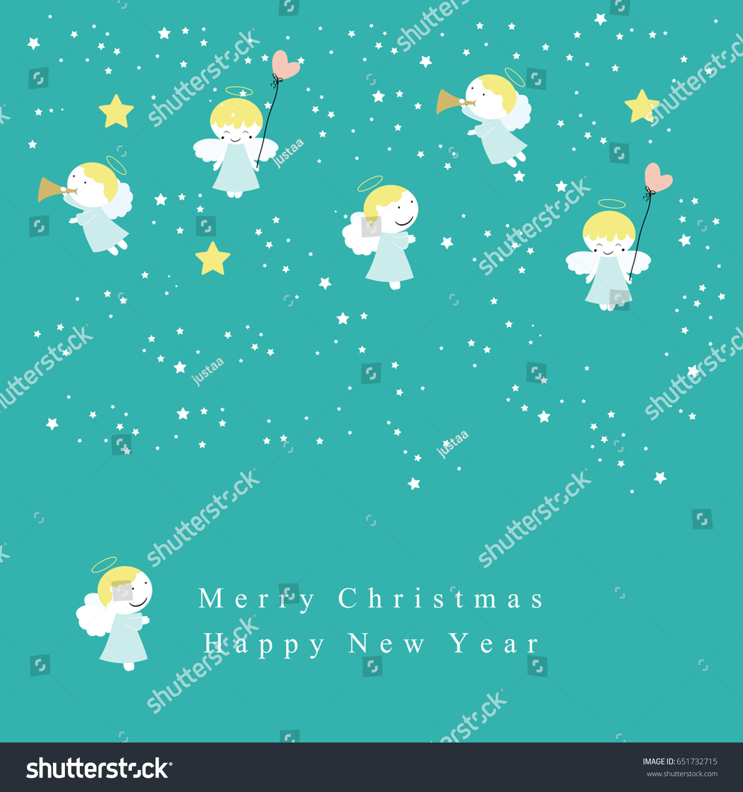 Cute christmas card sweet small angels stock vector 651732715 cute christmas card sweet small angels stock vector 651732715 shutterstock kristyandbryce Gallery