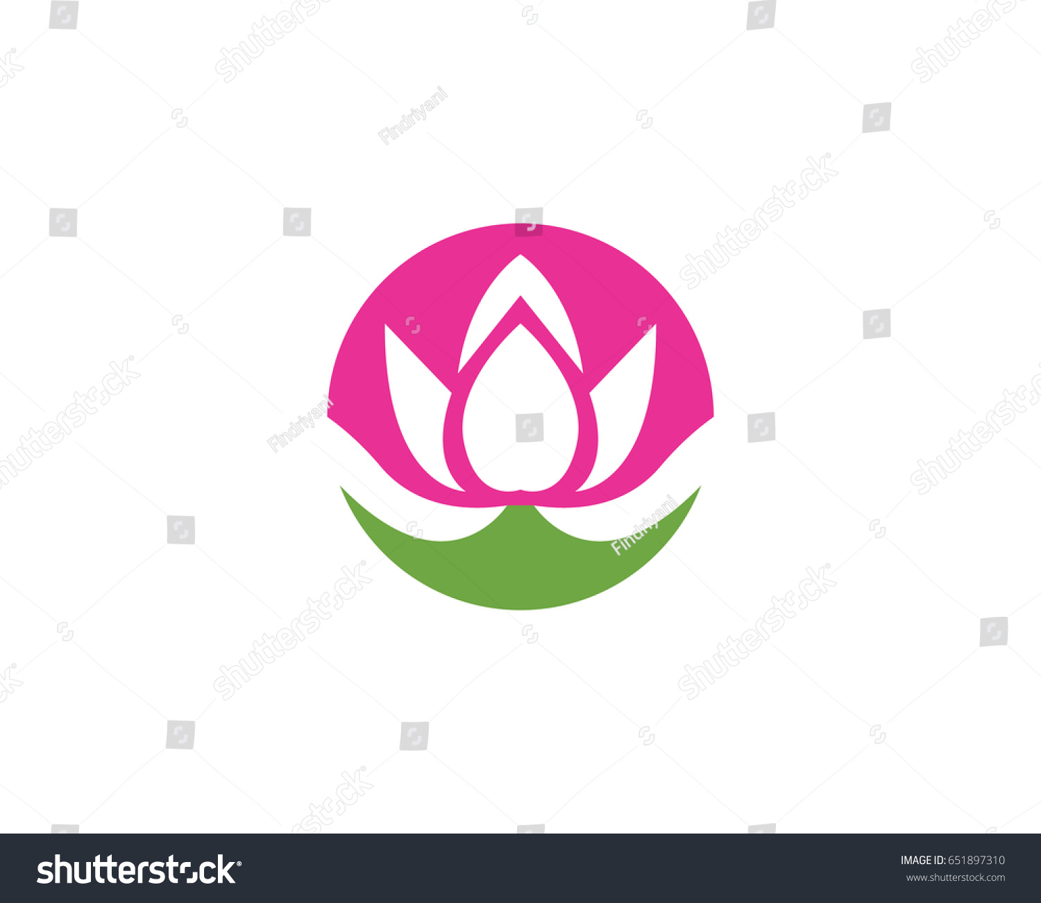 Lotus Flower Logo Ez Canvas