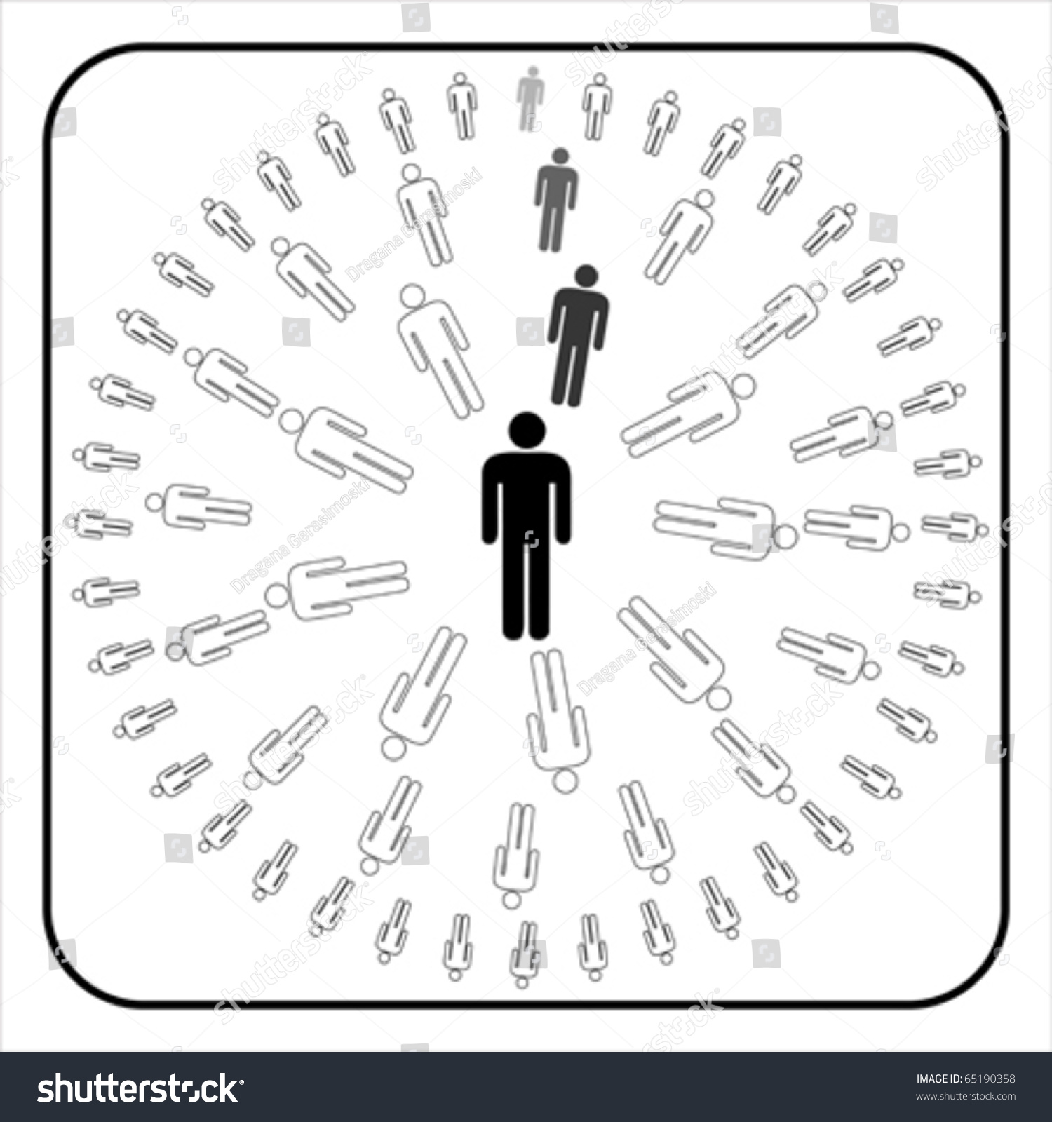 People And Org Chart Symbols