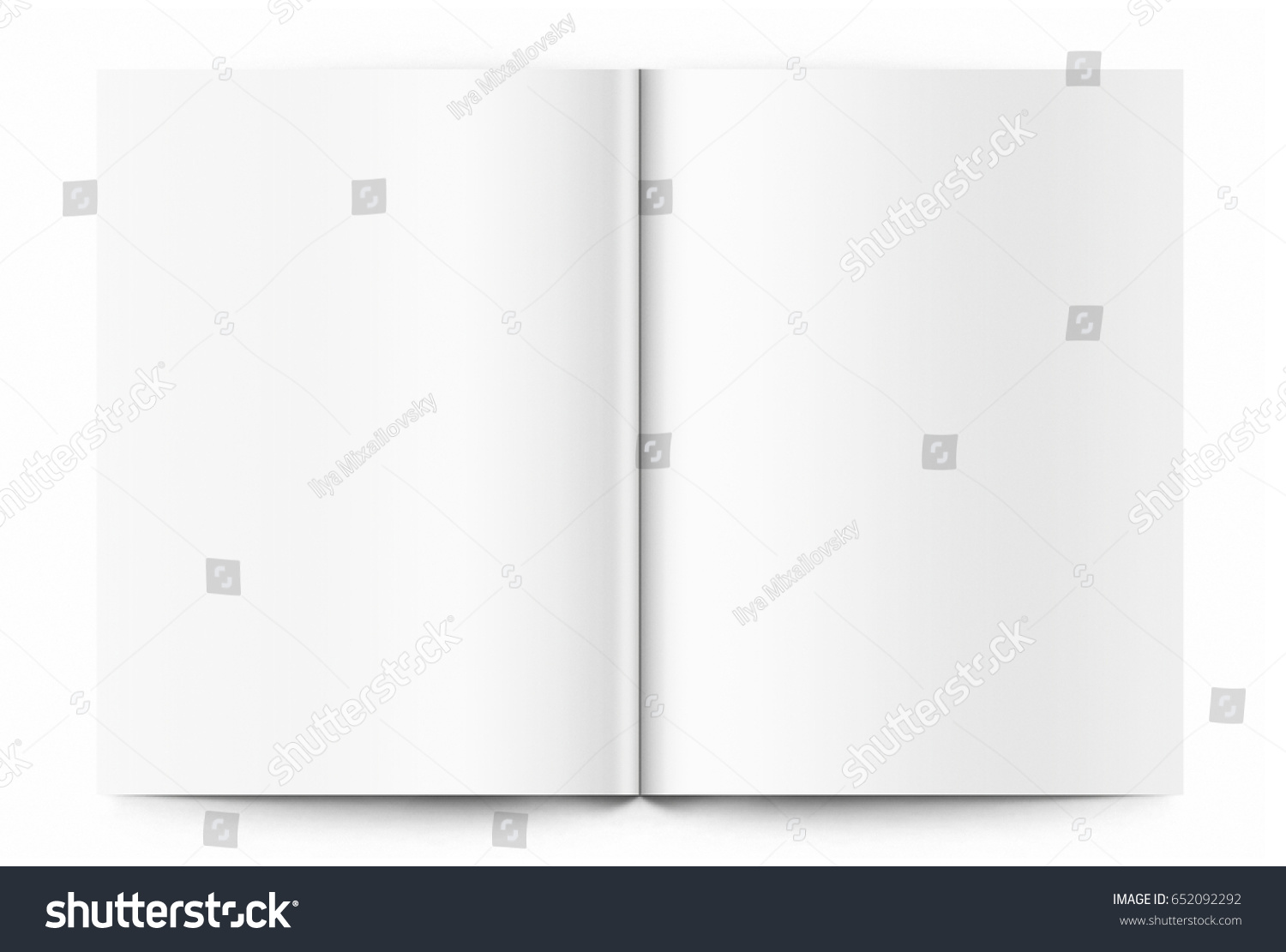Blank Template Magazine Stock Photo Edit Now Shutterstock