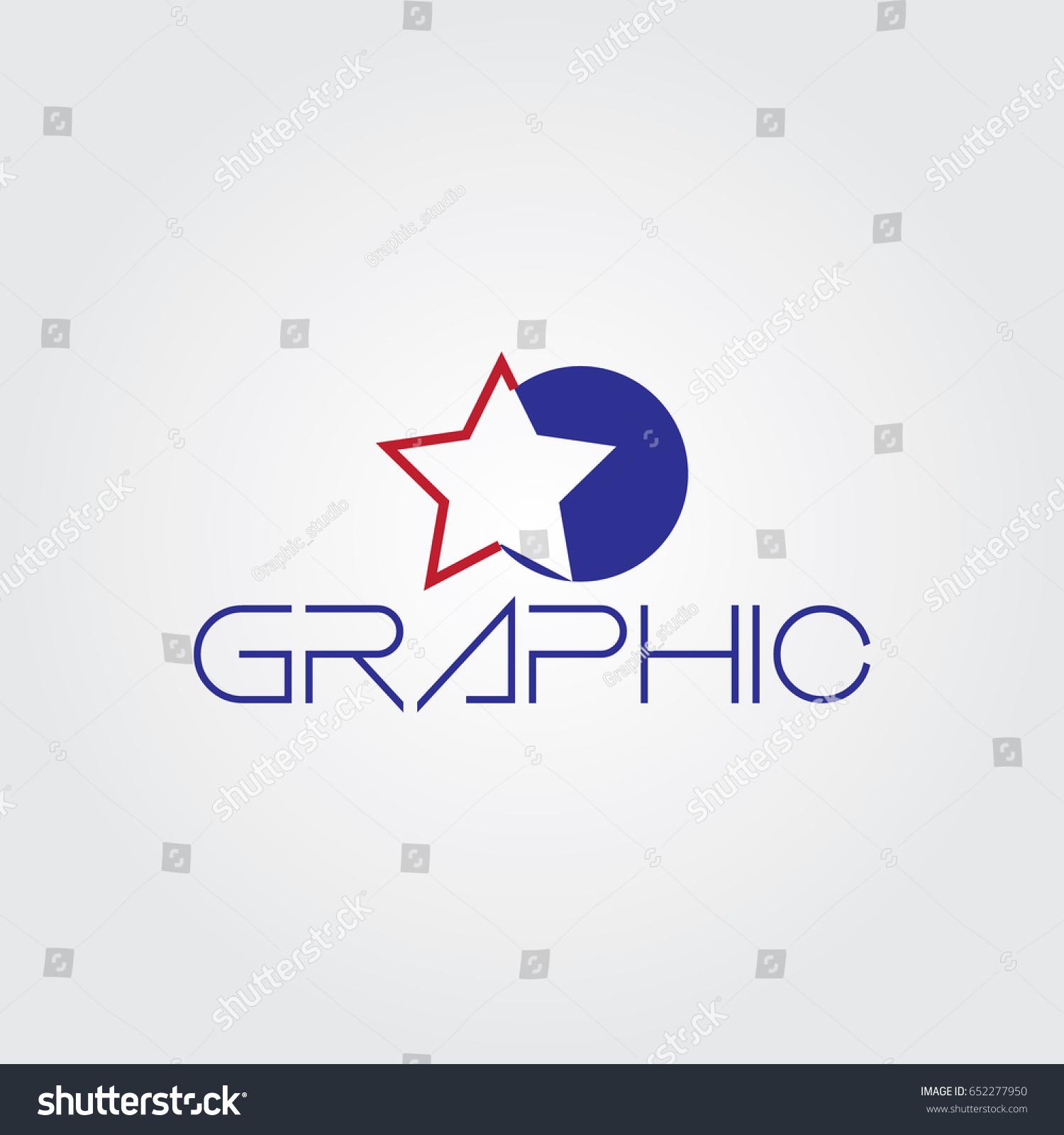 Creative Logo Design Unique Symbol Star Stock Vector Hd Royalty