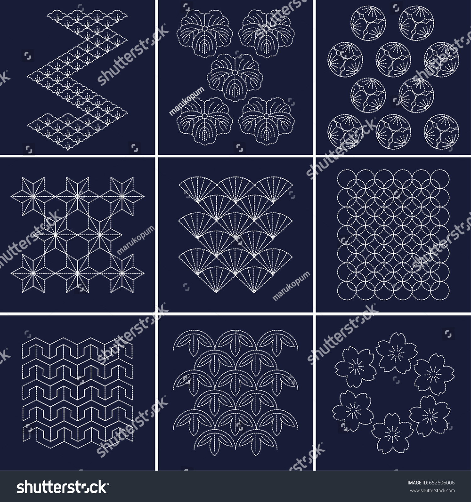 Sashiko Patterns Best Inspiration