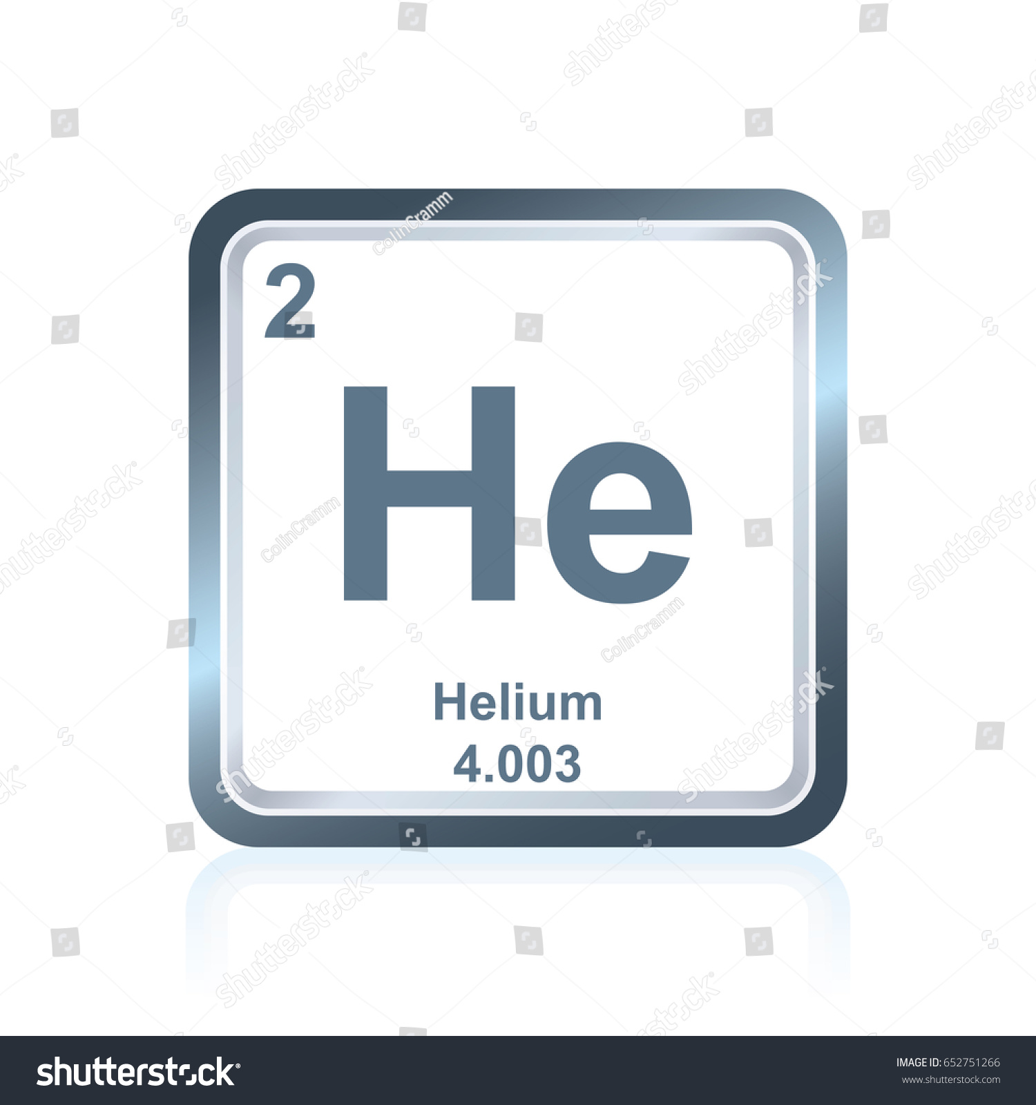 Symbol chemical element helium seen on stock vector 652751266 symbol of chemical element helium as seen on the periodic table of the elements including gamestrikefo Images