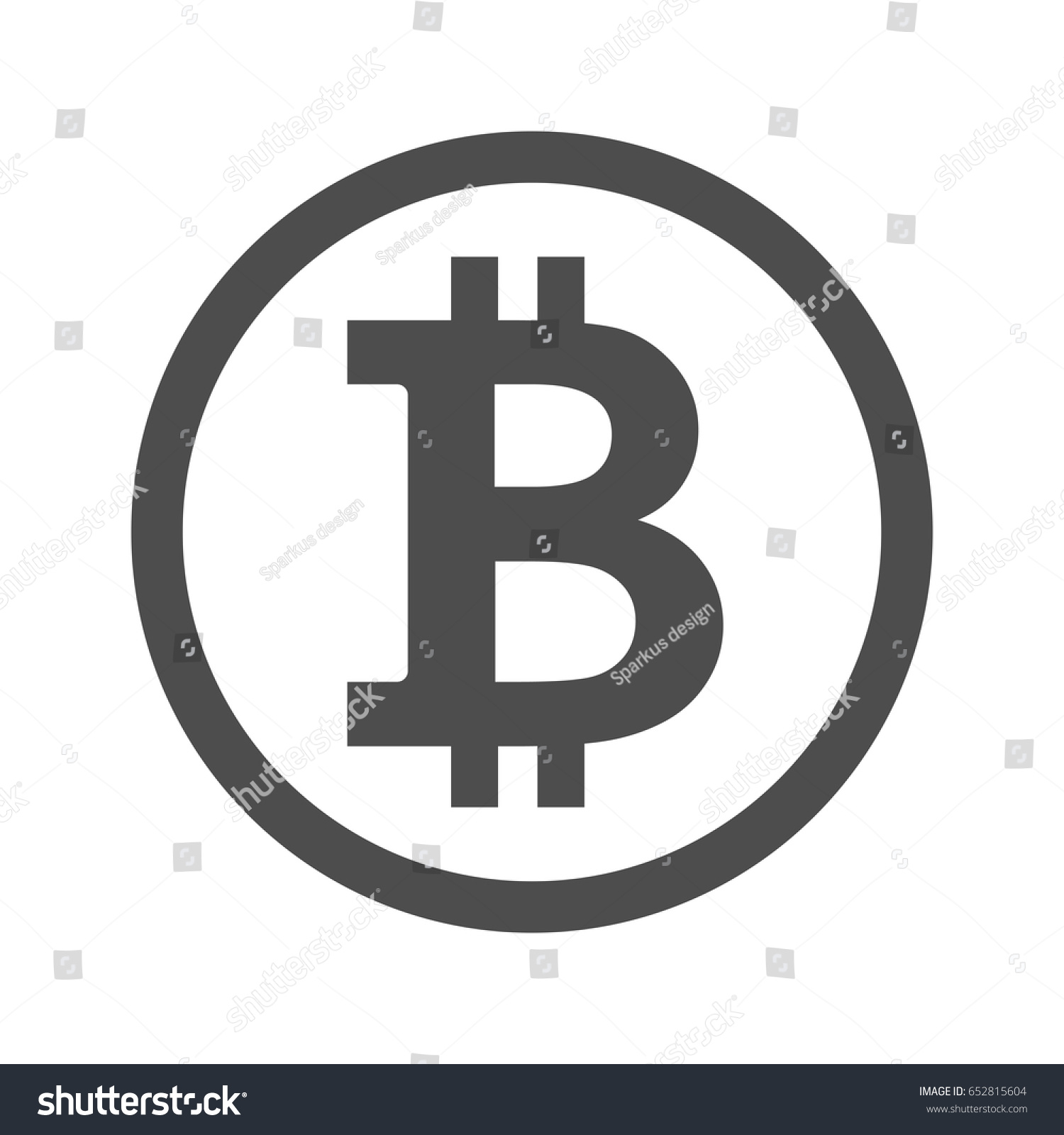 Stock images royalty free images vectors shutterstock bitcoin sign icon for internet money crypto currency symbol and coin image for using in buycottarizona Gallery