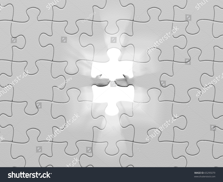 Puzzle Help Stock Illustration 65295079 - Shutterstock