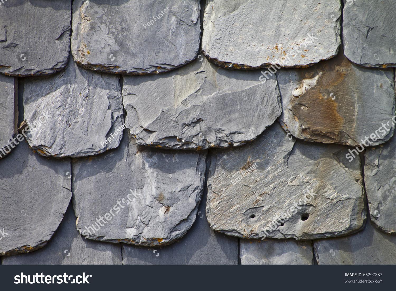 Tejado de pizarra stock photo 65297887 shutterstock - Tejado de pizarra ...