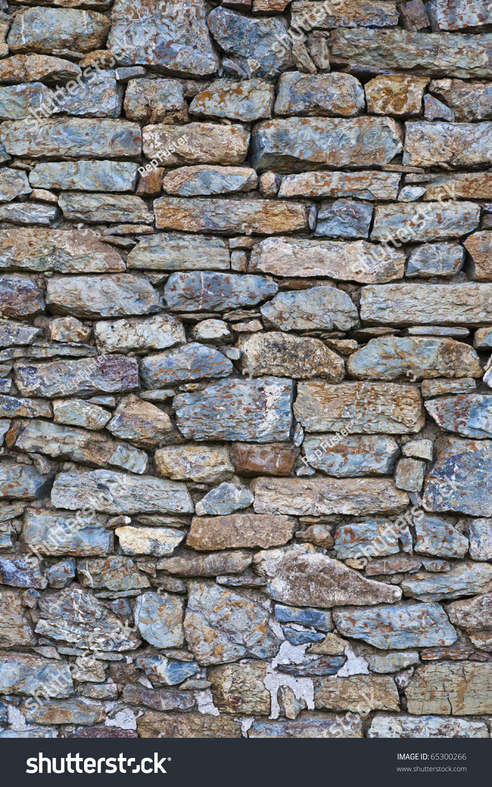 Texturas del campo pared de piedra stock photo 65300266 for Papel para pared imitacion piedra