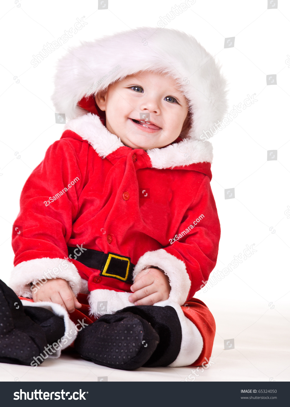 Laughing christmas baby stock photo shutterstock