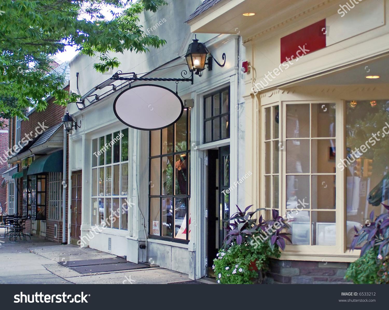 Old Fashiones Shopfront