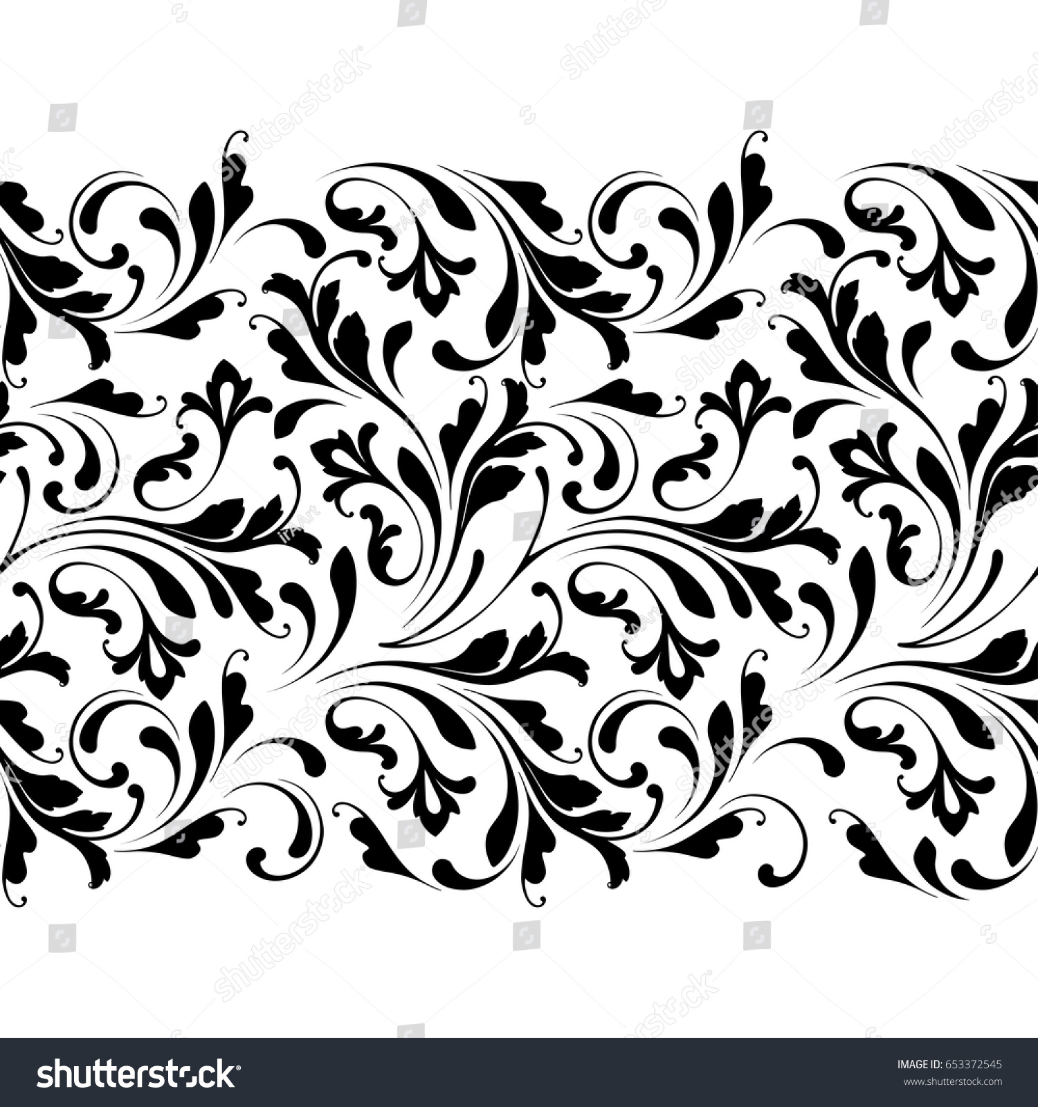 Expensive Carved Border Template For Wood Carving