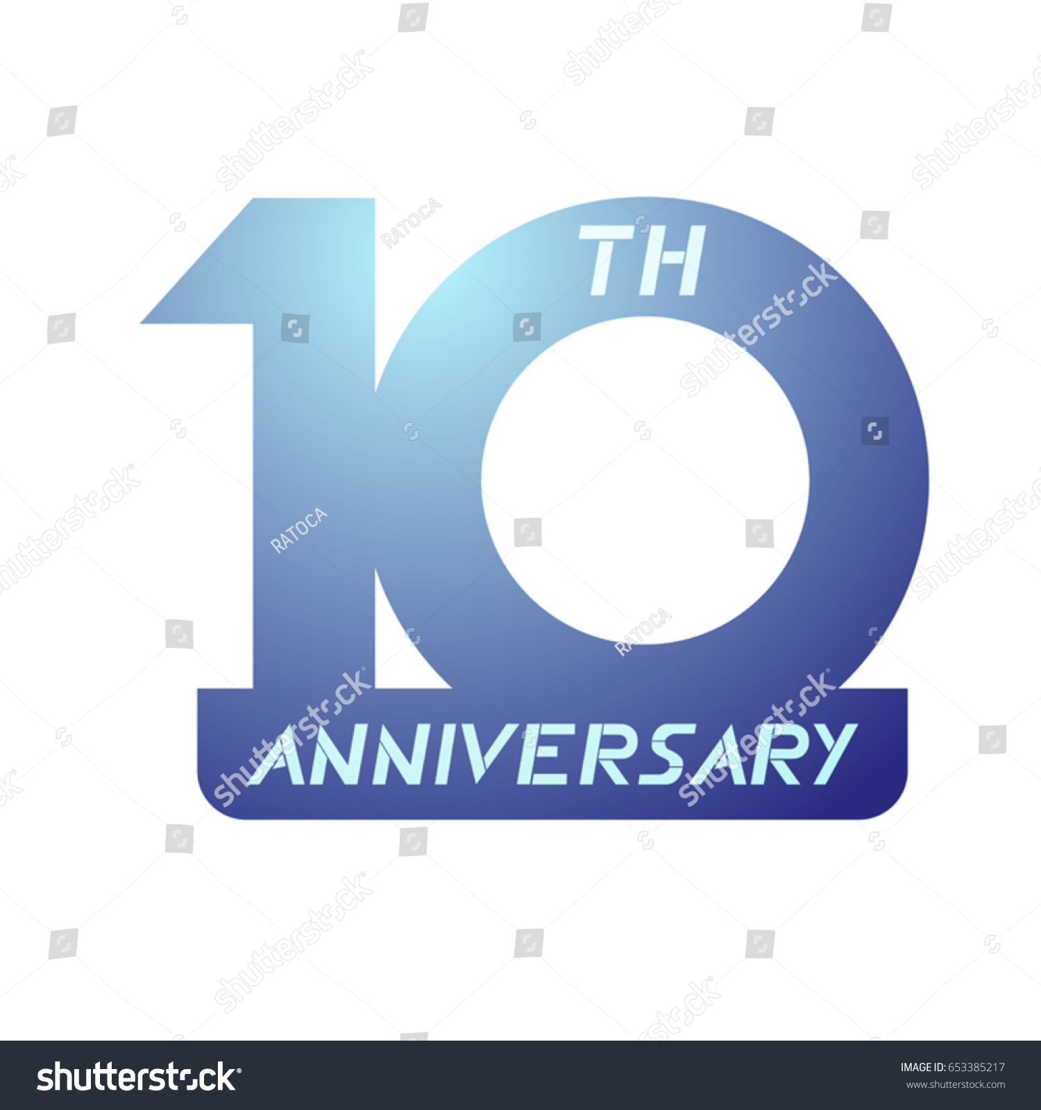 10th anniversary symbol stock vector 653385217 shutterstock 10th anniversary symbol biocorpaavc