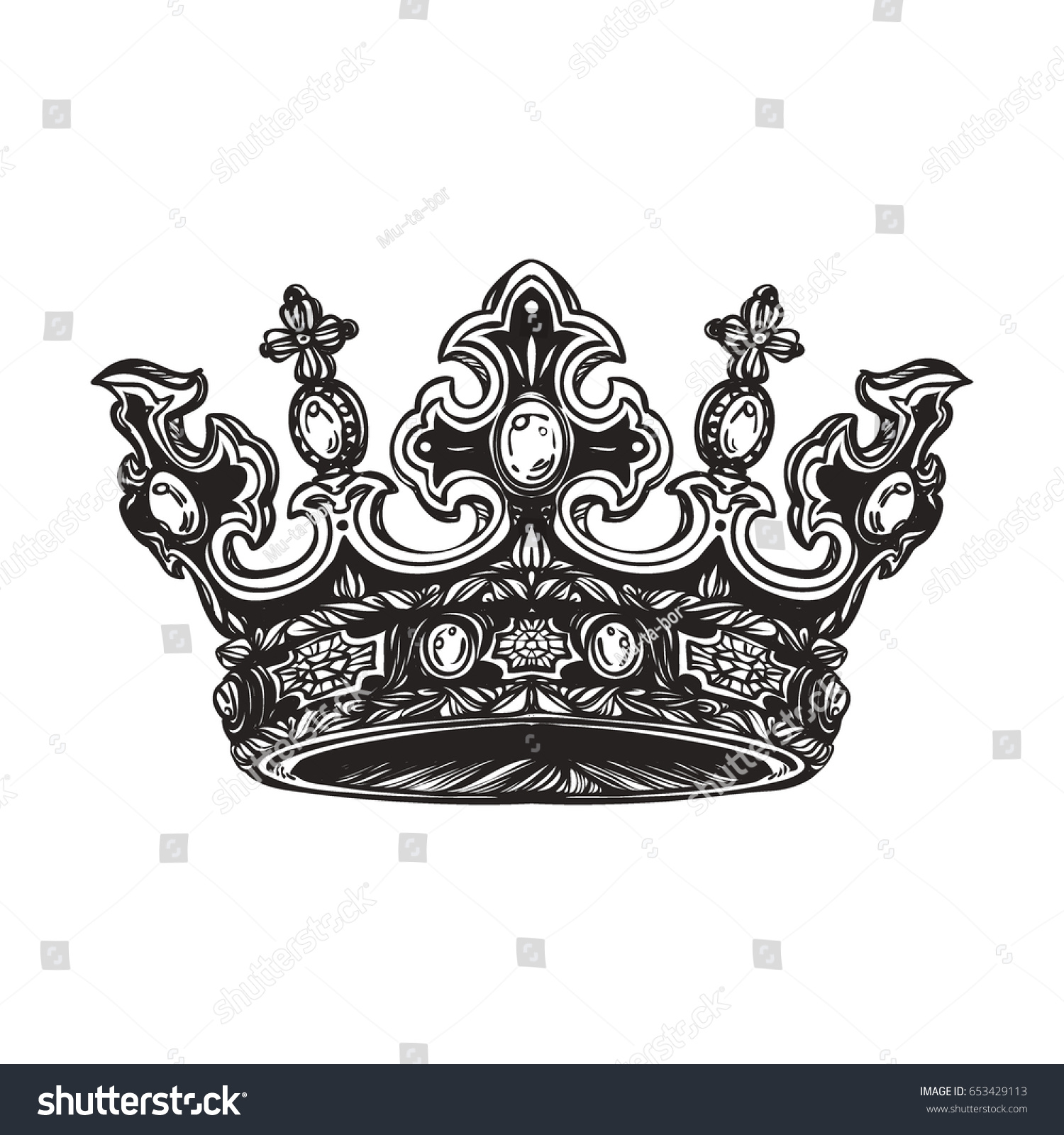 list of synonyms and antonyms of the word imperial crown tattoos. Black Bedroom Furniture Sets. Home Design Ideas