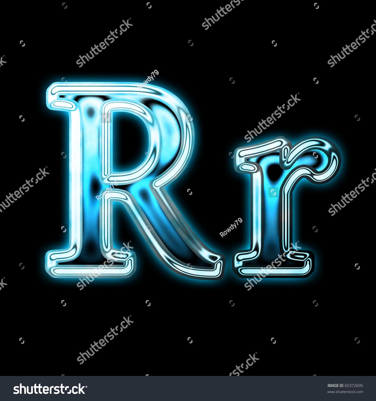 Neon Alphabet Symbol Ez Canvas