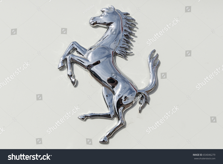 Scottsdale arizona usa may 31 2017 stock photo 654046279 scottsdale arizona usa may 31 2017 ferrari horse logo on ferrari biocorpaavc Gallery