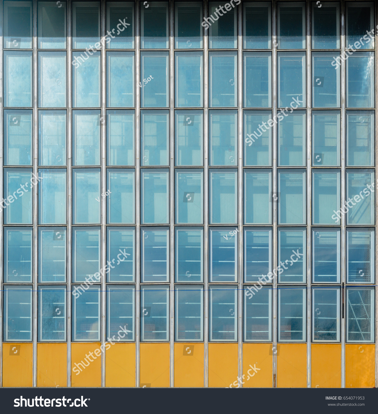 Aluminium curtain wall systems metal technology - Architecture Abstract Background Glass Curtain Wall Texture Stained Glass System Based On Outdated