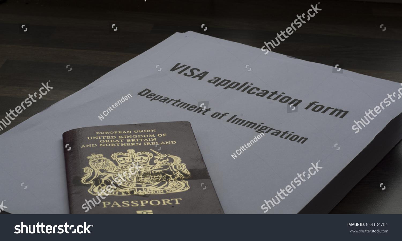 5 june 2017 royston uk visa stock photo 654104704 shutterstock 5 june 2017 royston uk a visa application form and united kingdom passport falaconquin