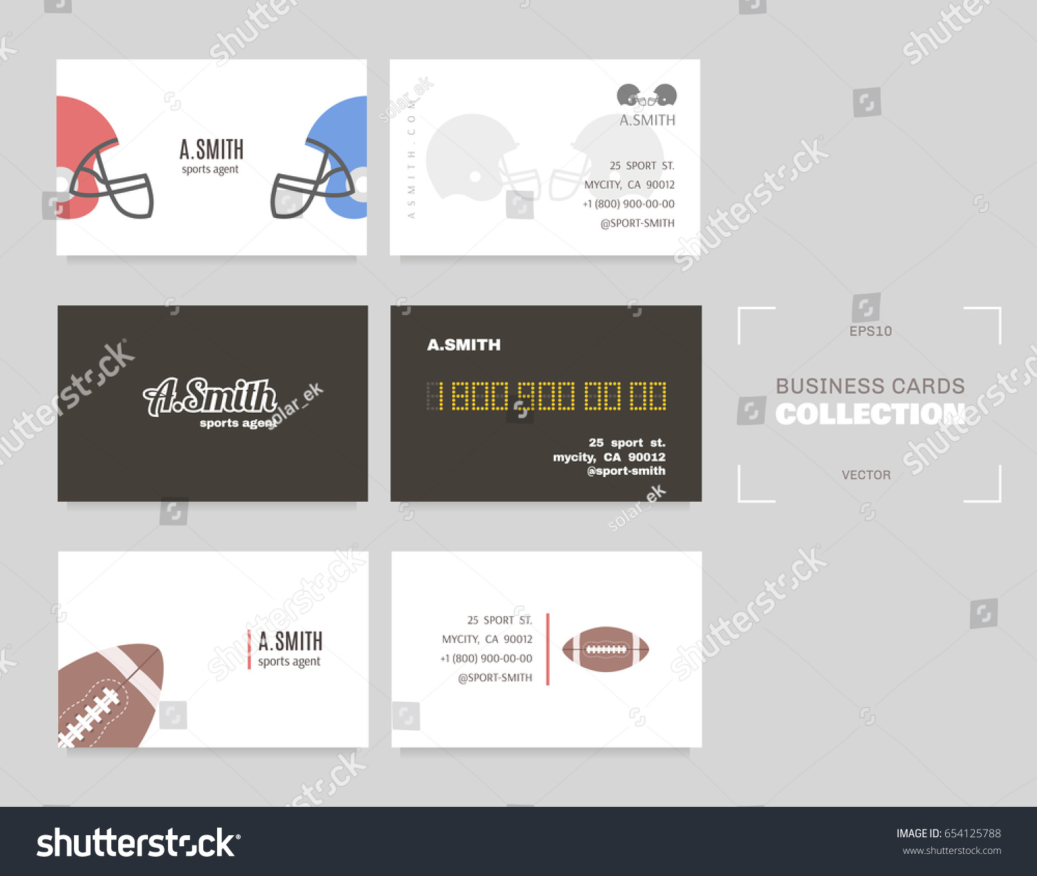 Sports agent business card image collections free business cards sports business cards choice image free business cards sports business cards good idea sports stock vector magicingreecefo Choice Image