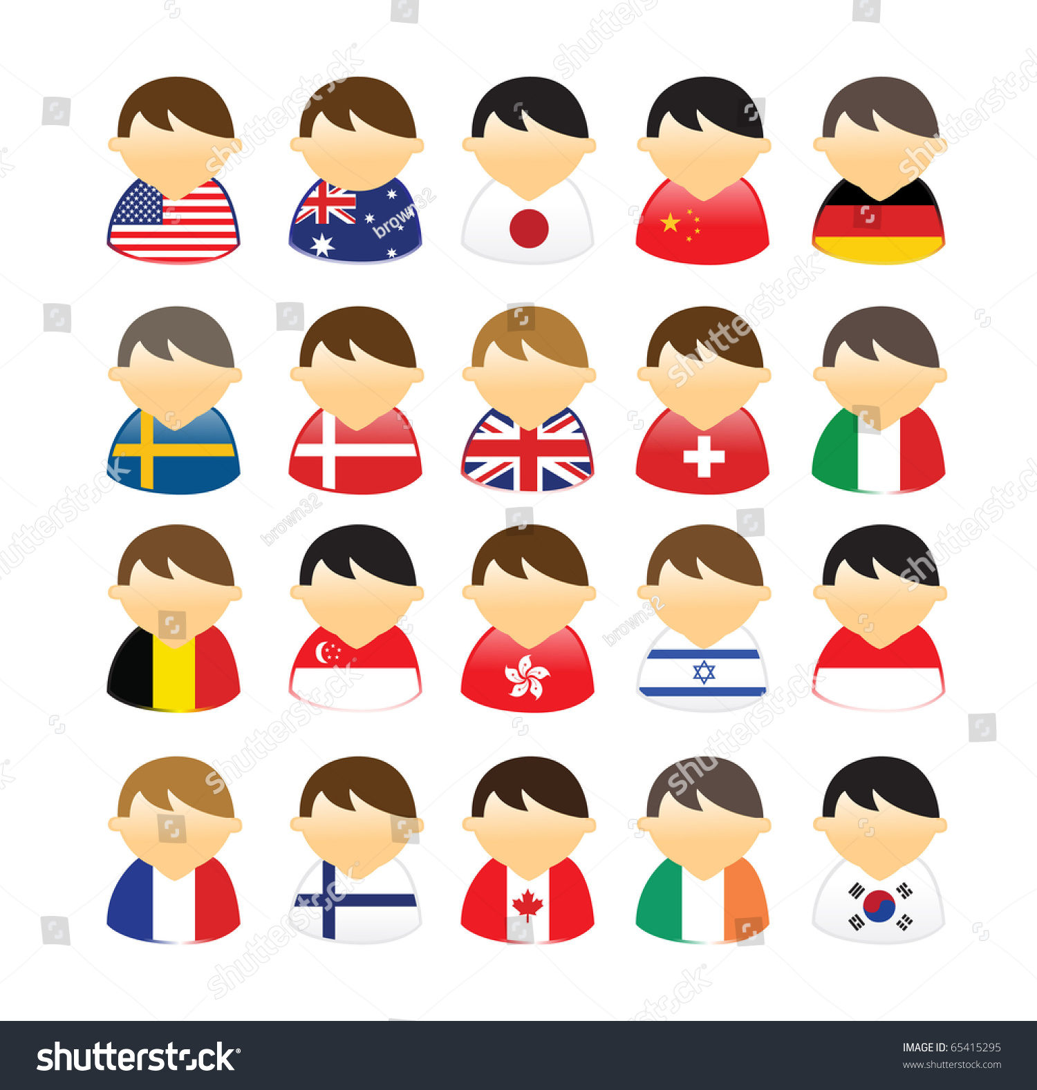 People Of Different Countries
