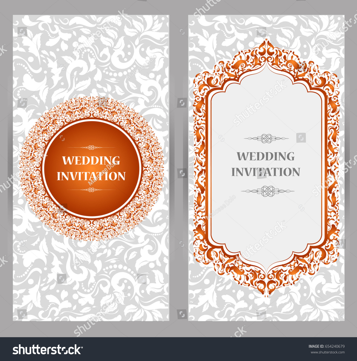 Wedding Invitation Card Abstract Background Islam Stock Photo (Photo ...