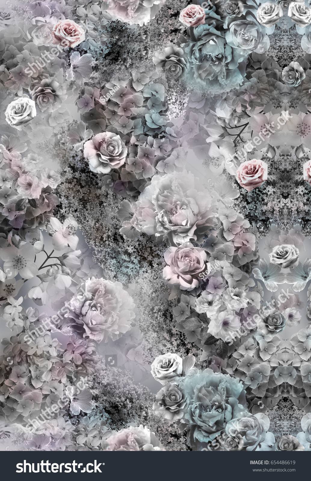 Floral pattern on seamless cloth fabric stock photo edit now floral pattern on seamless cloth fabric flower bouquet izmirmasajfo