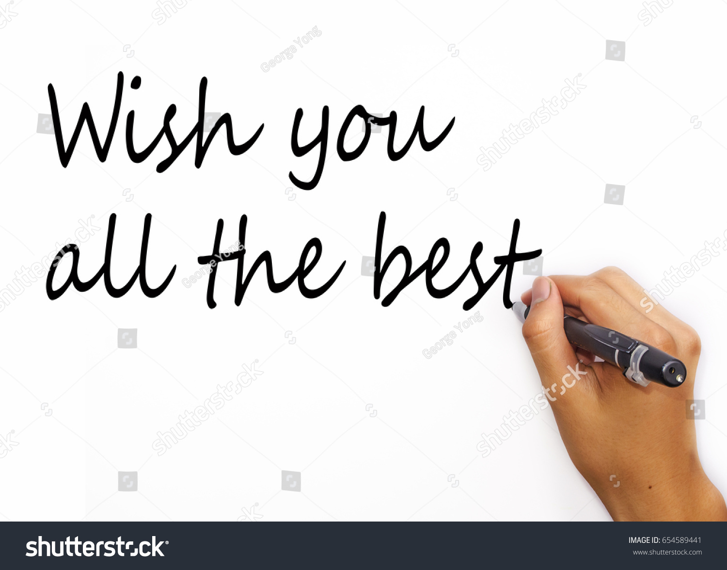 Motivating Quotes Wish You All Best Stock Photo Edit Now 654589441