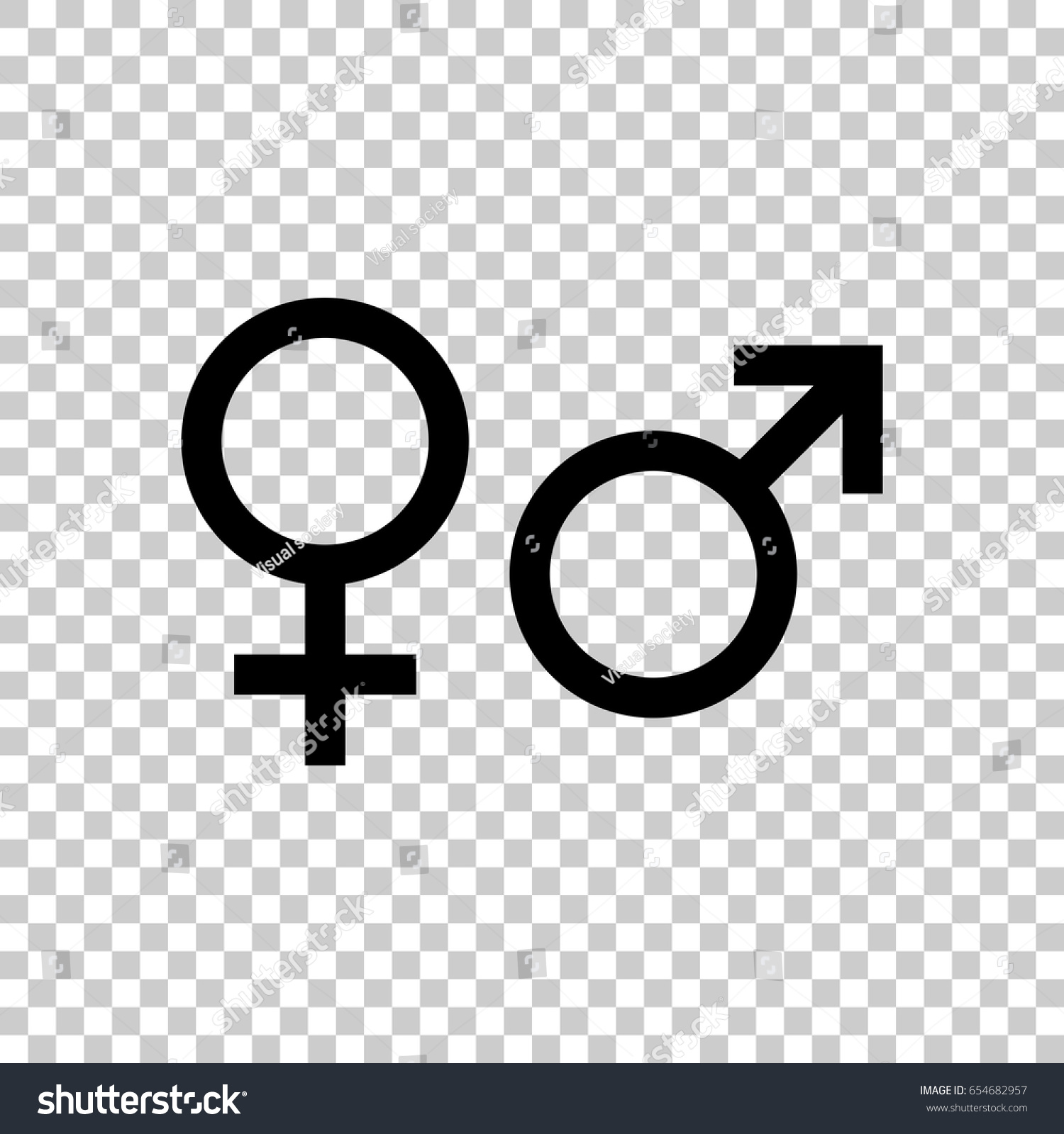 Male female sex symbol isolated on stock vector 654682957 male and female sex symbol isolated on transparent background black symbol for your design biocorpaavc