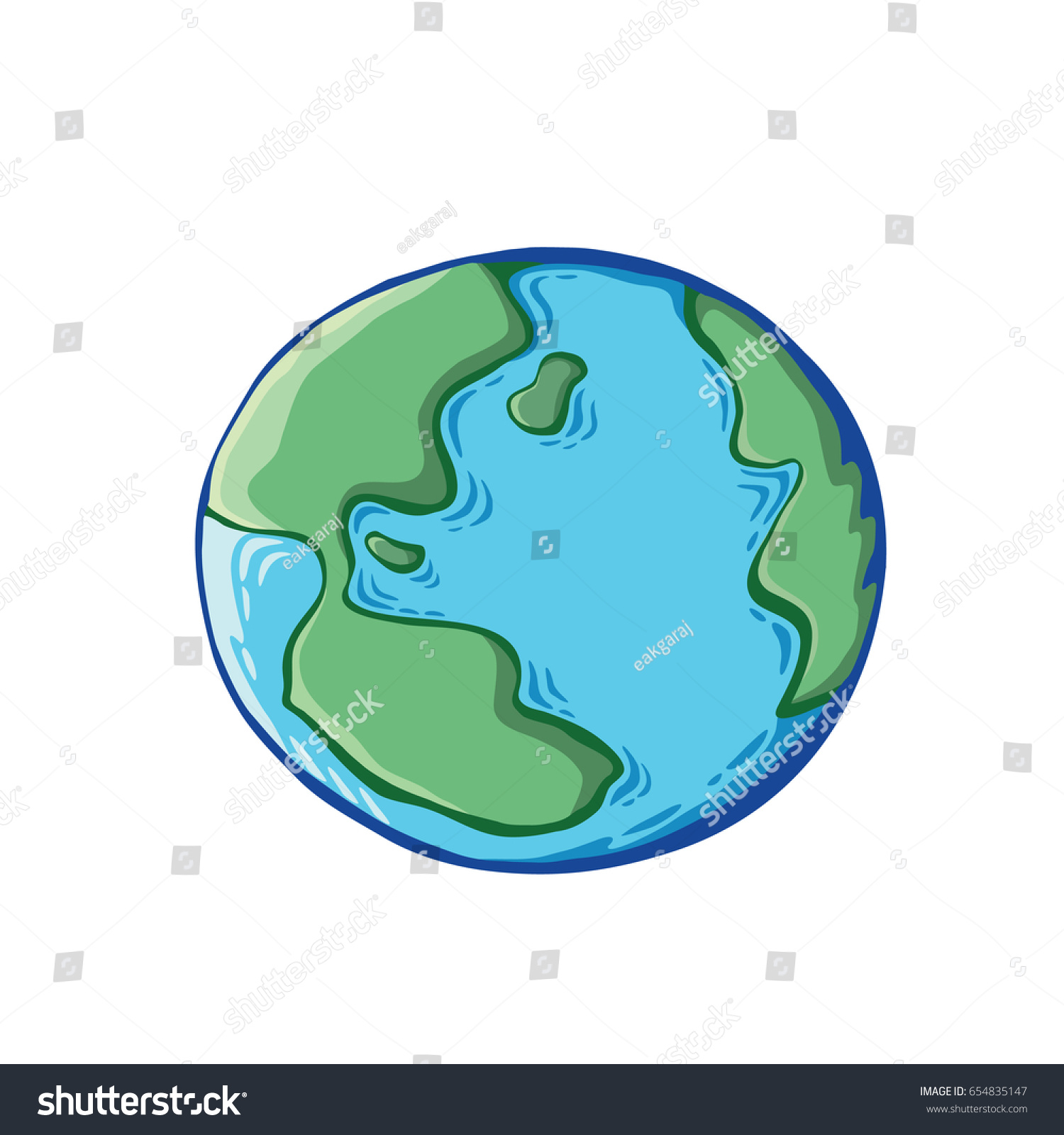 Earth drawing on white background world vectores en stock 654835147 earth drawing on white background world map or globe in doodles style environment design gumiabroncs Gallery