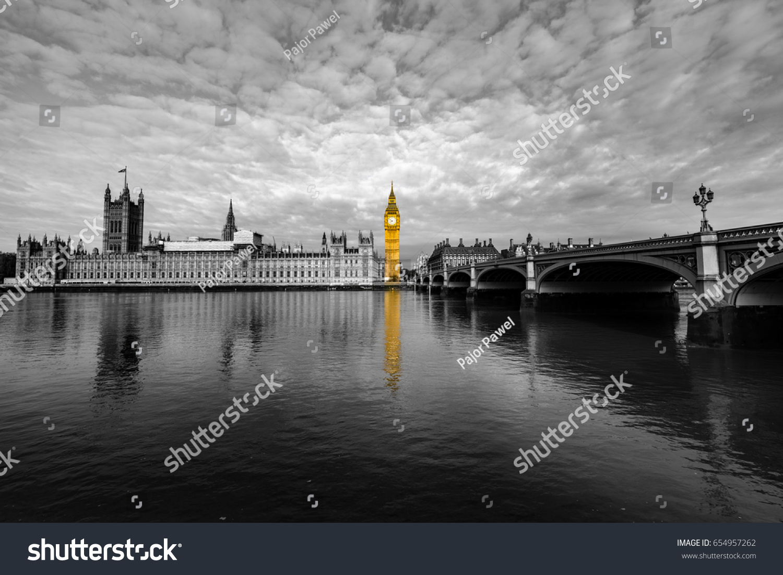 London Big Ben House Parliament London Stock Photo Edit Now