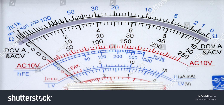 Analog Meter Background : Analog multimeter stock photo shutterstock