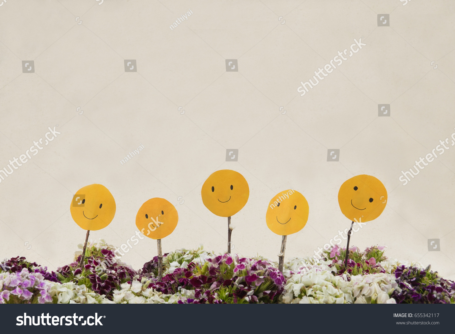Smiling face colorful sweet william flowers stock photo 655342117 smiling face with colorful sweet william flowers bouquet with copy space izmirmasajfo