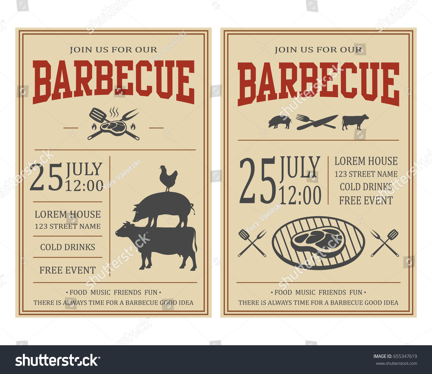 Design templates flyer cookout flyer writing a descriptive essay design templates flyer cookout flyer business marketing sample stock vector vintage barbecue party invitation bbq food pronofoot35fo Images
