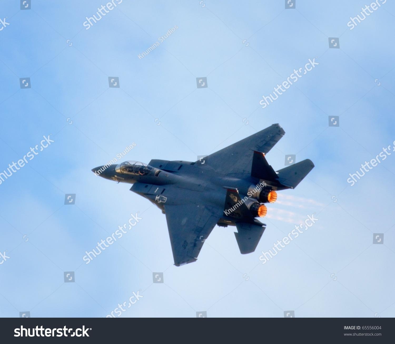 Blue Fighter Jets Stock Photo Homestead Fl November United States Fighter