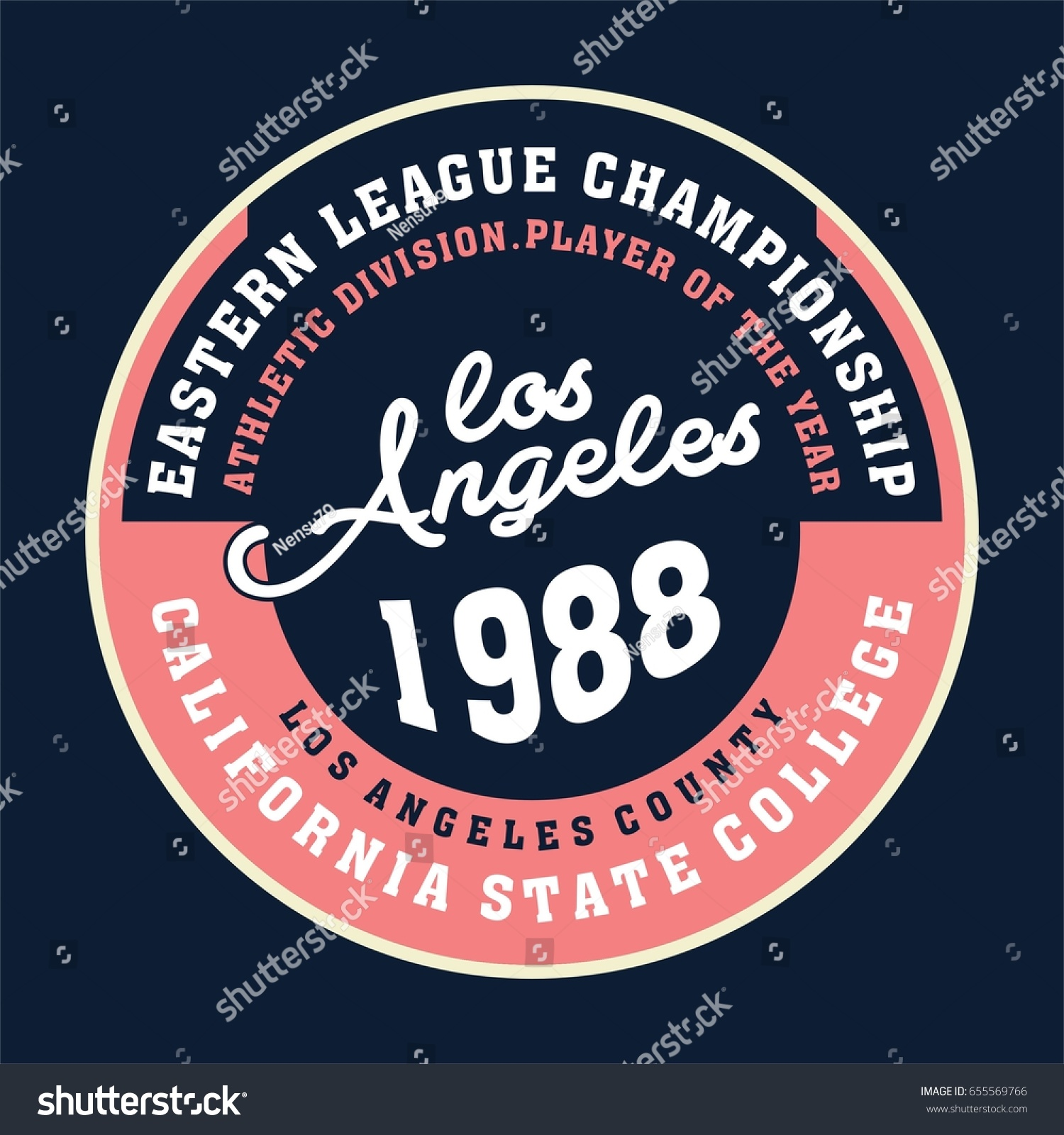 Design t shirts los angeles - Design Letters And Numbers Los Angeles Champion State For T Shirts