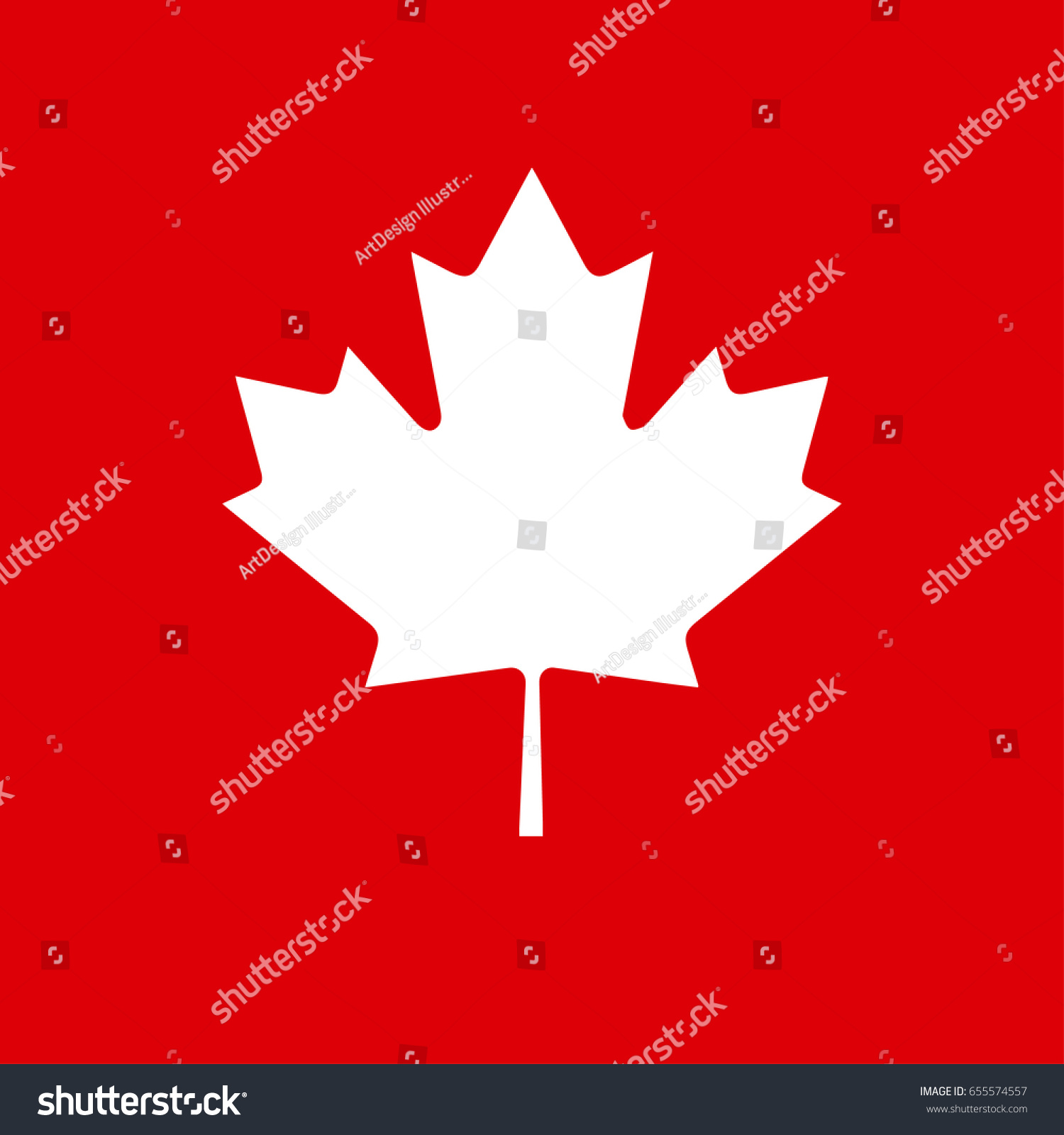 happy canada day greeting card poster stock vector 655574557