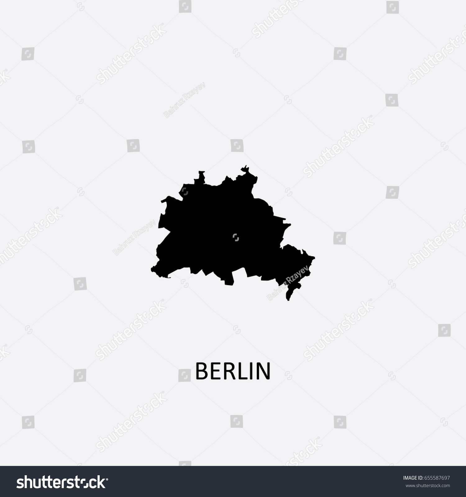 FileBerlin Administrative Divisions Districts Boroughs Pop Berlin - Germany map vector