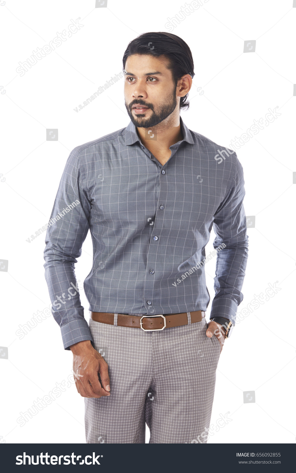 Young Man Wearing Formal Dress On Stock Photo 656092855 - Shutterstock