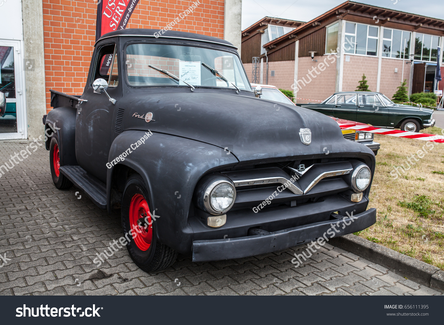 Paaren Im Glien Berlin Germany June Stock Photo Edit Now 656111395 1955 Ford F100 History 03 2017 Oldtimer Show