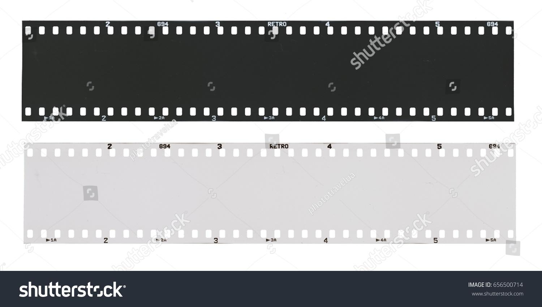 film strip template empty developed black stock photo 656500714, Powerpoint templates
