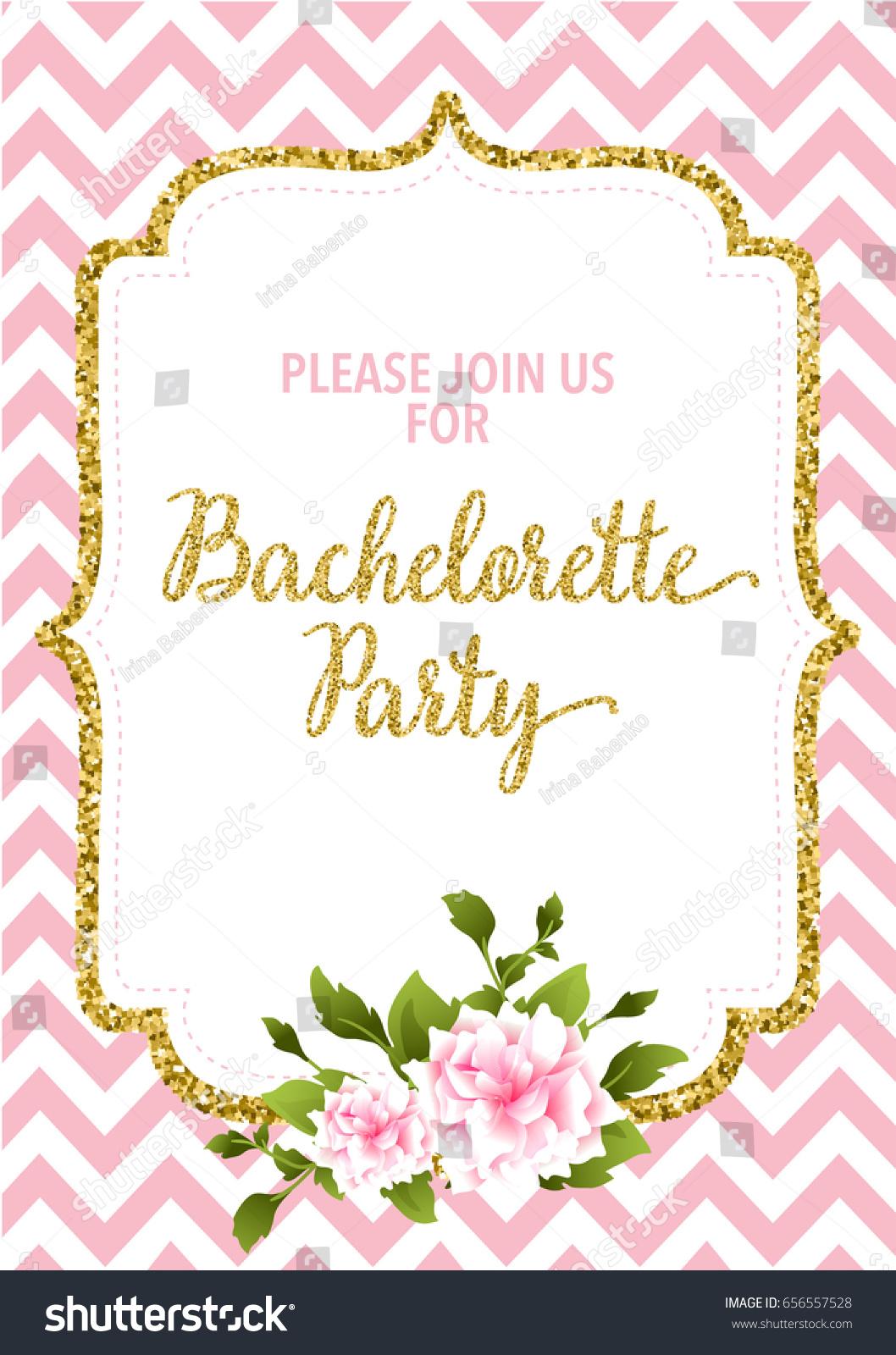 Hen Party Invitation Card Ez Canvas