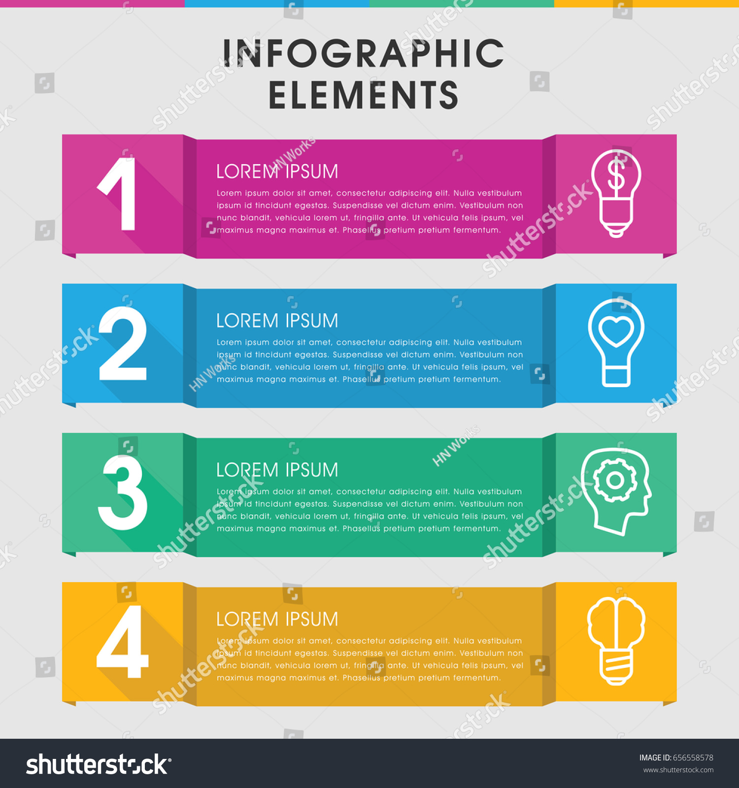Modern Inspiration Infographic Template Infographic Design Stock ...