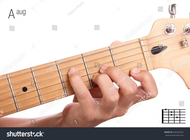Aaug Advanced Guitar Keys Series Closeup Stock Photo Edit Now