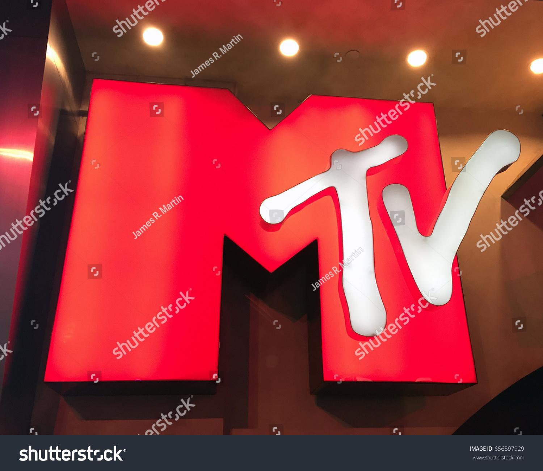 Las Vegas Nevadadecember 28 2017 Mtv Stock Photo Edit Now