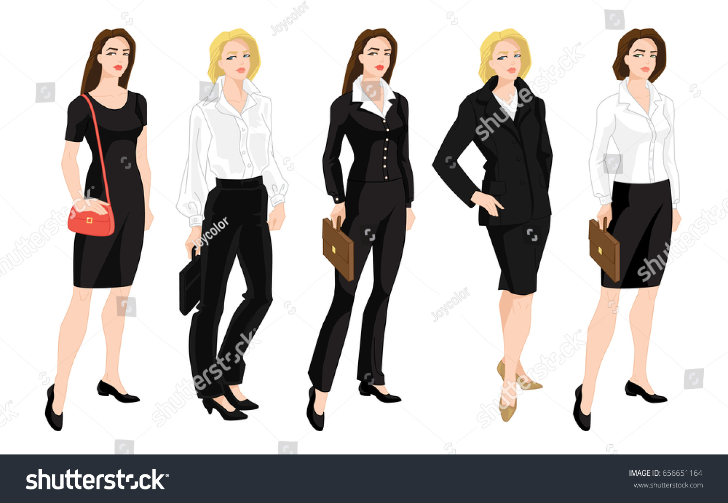 dress code formal attire gallery dresses design ideas vector illustration corporate dress code business stock vector - Dress Design Ideas