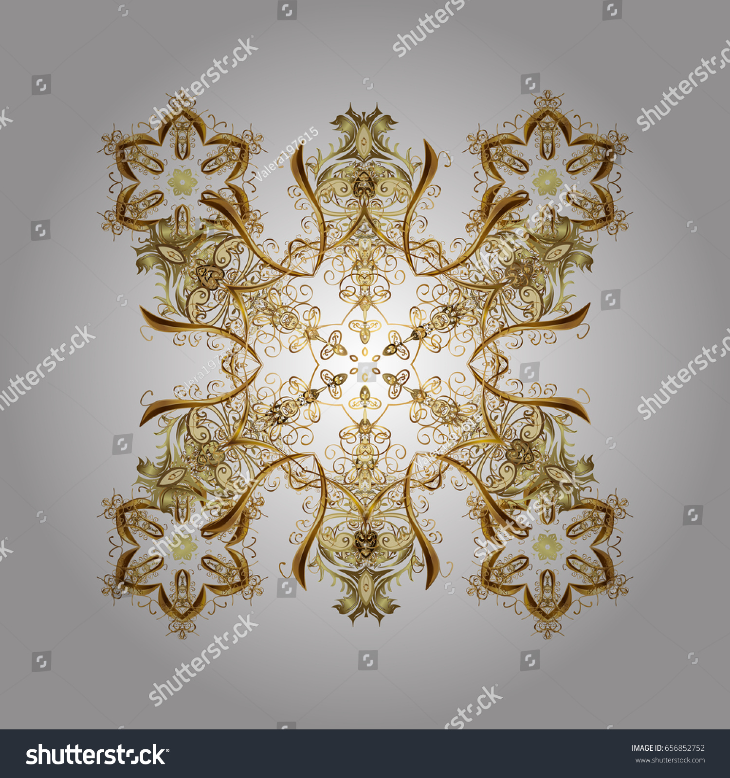 Ornamental artistic vector illustration in white colors for Merry ...